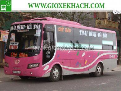 Xe khách tuyến Tiền Hải - Thái Bình đi Mỹ Đình nhà xe Chi Đào