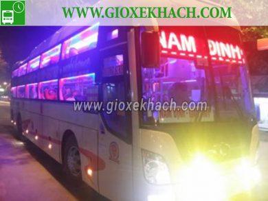 Xe khách tuyến Giao Thủy - Nam Định đi Quỳnh Nhai - Sơn La nhà xe Trường Sinh