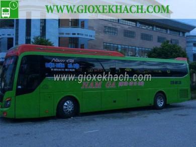 Xe khách từ Hà Nội - Giáp Bát đi Điện Biên nhà xe Nam Gà