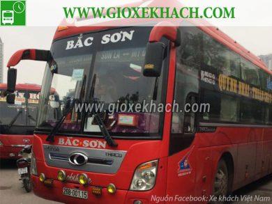 Xe khách tuyến Quỳnh Nhai - Thuận Châu đi bến xe Mỹ Đình nhà xe Bắc Sơn