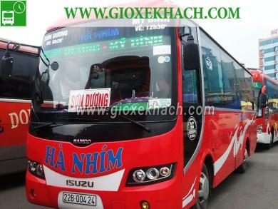 Xe khách từ Tân Trào - Sơn Dương đi bến xe Mỹ Đình nhà xe Hà Nhím