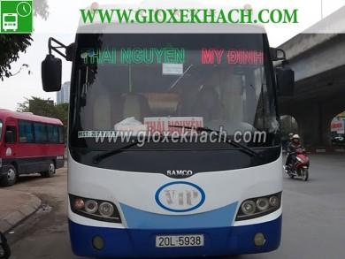 Thông tin và lịch trình xe khách từ Thái Nguyên đi Mỹ Đình