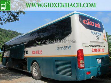 Xe khách tuyến Hà Giang đi Thanh Hóa nhà xe Cầu Mè