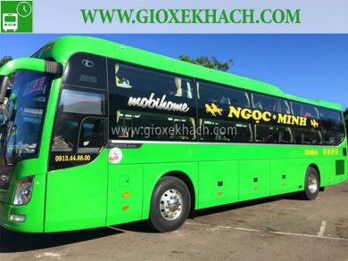 Xe khách tuyến Quy Nhơn - Bình Đình đi bến xe Miền Đông nhà xe Ngọc Minh
