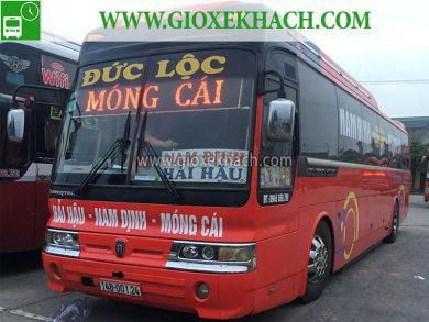 Xe khách tuyên Hải Hậu - Nam Định đi Móng Cái xe khách Đức Lộc 01