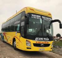 Xe khách tuyến Giao Thủy - Nam Định đi Thái Nguyên - Đại Từ