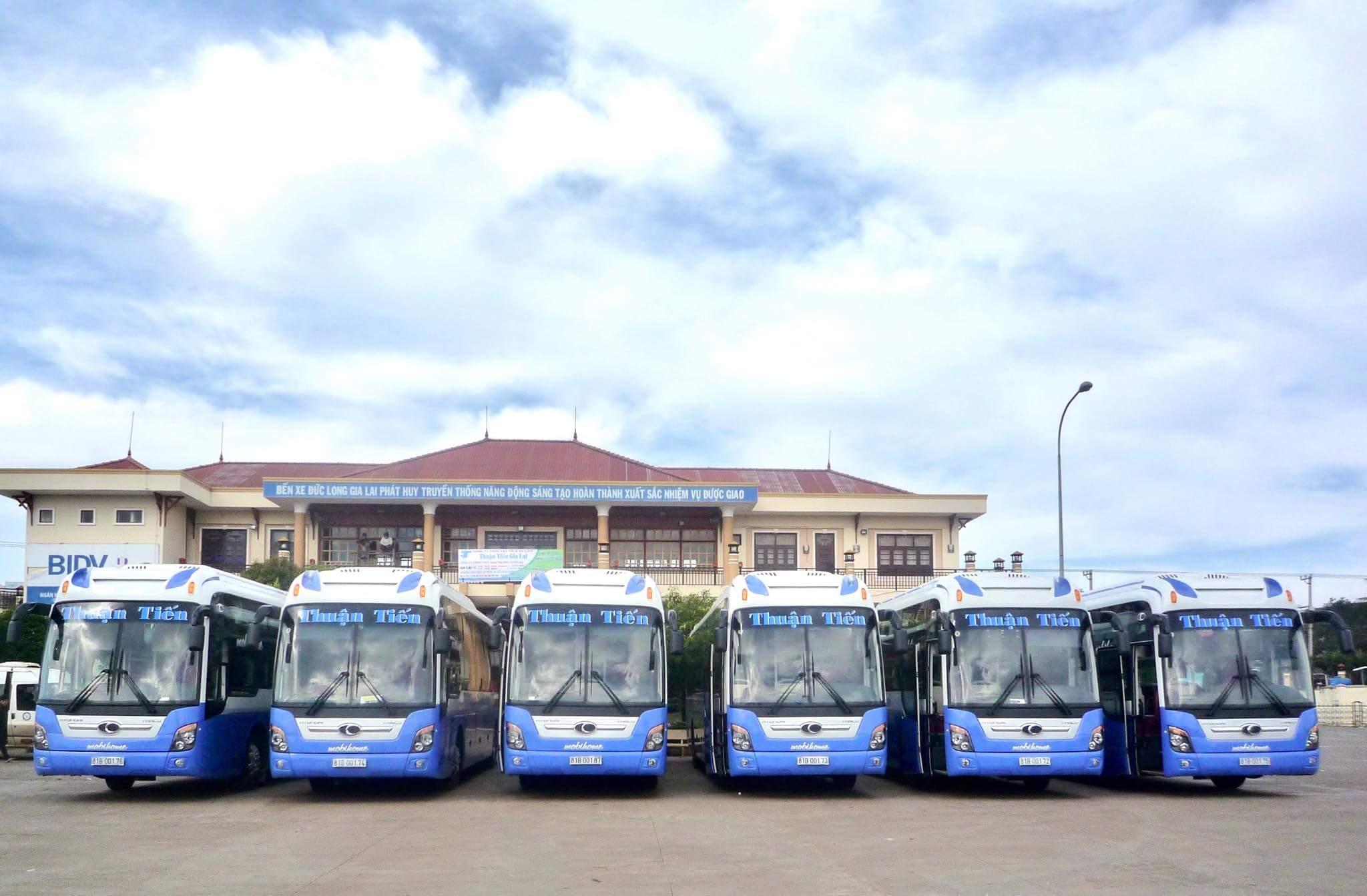 Xe VIP Limousine tuyến Sài Gòn - Gia Lai Nhà xe Thuận Tiến Gia Lai