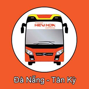 Xe khách giường nằm tuyến Đà Nẵng đi Tân Kỳ - Nghệ An nhà xe Hiếu Hoa