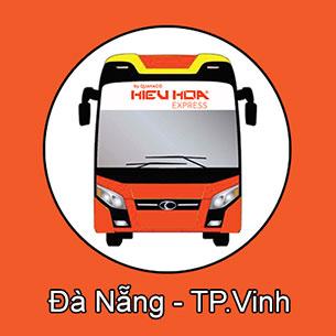 Xe khách giường nằm tuyến Đà Nẵng đi TP Vinh nhà xe Hiếu Hoa