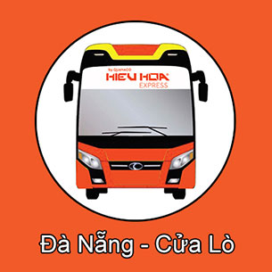 Xe khách tuyến Đà Nẵng đi Cửa Lò - Nghệ An nhà xe Hiếu Hoa