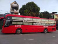 Nhà xe Hồng Thịnh chuyên tuyến Hàm Yên - Tuyên Quang - Đà Nẵng