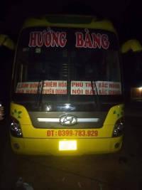 Xe giường nằm tuyến Tuyên Quang - Bắc Ninh - Bắc Giang nhà xe Hường Bàng