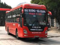 Xe giường nằm tuyến Hà Giang - Hải Dương - Ninh Giang nhà xe Mạnh Hà