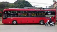 Xe khách tuyến Mường La - Thanh Hóa nhà xe Quang Đông