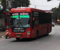 Xe giường nằm Hà Giang - Đồng Nai - Sài Gòn nhà xe Anh Đồng