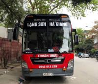 Xe khách tuyến Hà Giang - Lạng Sơn nhà xe Thuận Thực