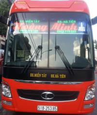 Xe khách tuyến Hồ Chí Minh đi Bx Hà Tiên - Kiên Giang nhà xe Hoàng Minh