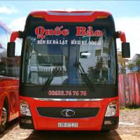 Xe khách tuyến Đà Lạt đi Đà Nẵng - Huế - Đông Hà nhà xe Quốc Bảo Đà Lạt
