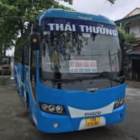 Xe khách Thái Thưởng tuyến Đông Hưng - Thái Bình đi Mỹ Đình - Hà Nội