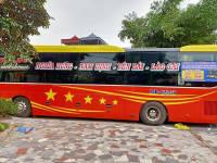 Xe khách giường nằm tuyến Nghĩa Hưng đi Bắc Hà - Lào Cai nhà xe Huy Huy