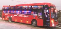 Xe khách giường nằm từ Hải Hậu - Nam Định đi Móng Cái - Quảng Ninh nhà xe Đức Lộc