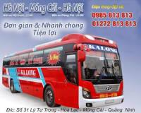 Xe khách đêm tuyến Móng Cái Quảng Ninh - Hà Nội Mỹ Đình nhà xe Ka Long